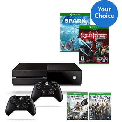 Xbox One Solution Bundle with Your Choice of Console, Game, and Controller