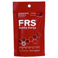Frs Healthy Energy Chews ,Orange, 4-Count (Pack of 6)