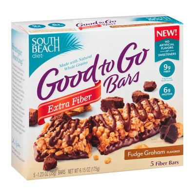 South Beach Diet Good to Go Fudge Graham Fiber Bars