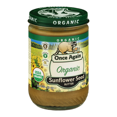 Once Again Sunflower Seed Butter Organic