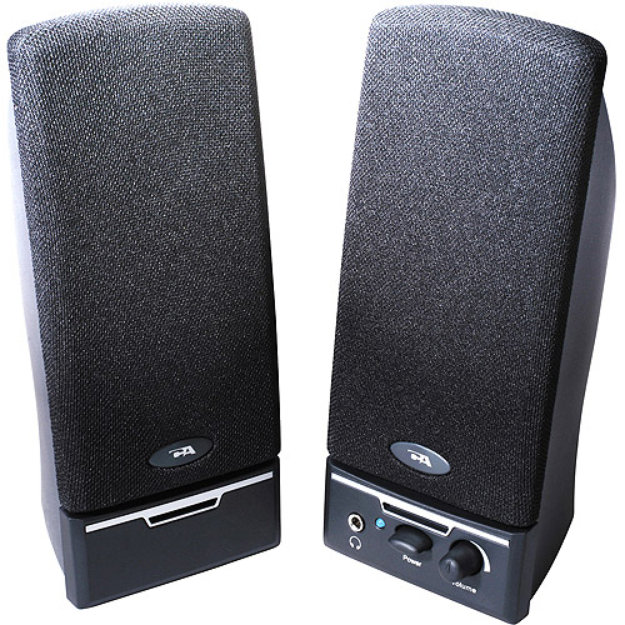 Cyber Acoustics CYBER ACOUSTICS CA-2014RB 2.0 BLACK SPEAKER SYSTEM