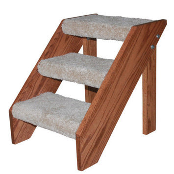 Premier Pet Steps Open Riser 3 Step Pet Stair