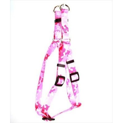 Yellow Dog Design SI-CPK104XL Camo Pink Step-In Harness - Extra Large