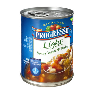 Progresso Light Savory Vegetable Barley Soup