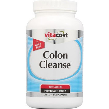 Vitacost Brand Vitacost Natural Colon Formula -- 200 Tablets