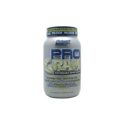 Nutrex Research, Inc. Pro-Gram, Vanilla, 2.23-Pound Tub