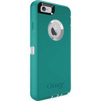 OtterBox DEFENDER iPhone 6 Plus/6s Plus Case - Retail Packaging - SEACREST (WHISPER WHITE/LIGHT TEAL)