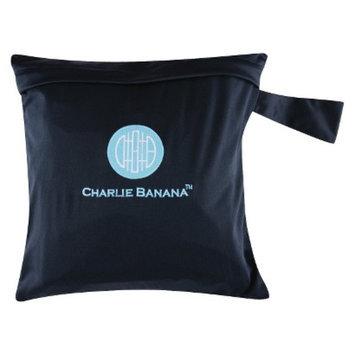 Charlie Banana Diaper Tote - Black/Blue
