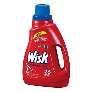 Wisk Coldwater Power Liquid Laundry Detergent