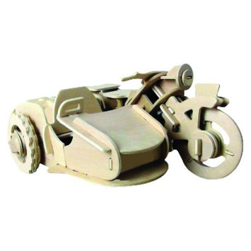 Regal Robotime 3D Wooden Robotic Puzzle Motorcycle sidecar