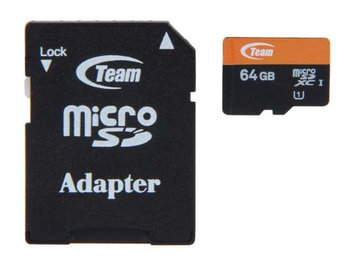 64GB Team Group Xtreem Series microSDXC UHS-I Memory Card