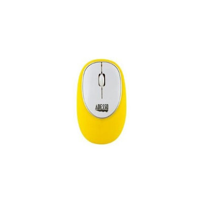 Adesso IMOUSEE60Y YELLOW WIRELESS ANTI-STRESS GEL MOUSE
