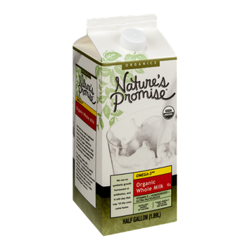 Nature's Promise Organic Whole Milk Omega-3