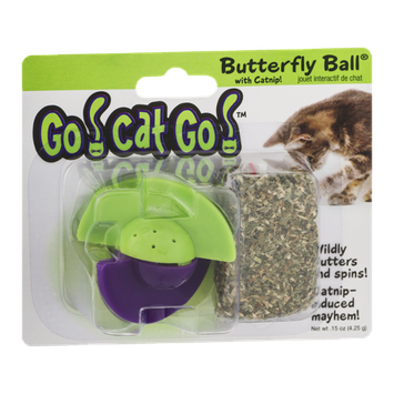 Go! Cat Go! Butterfly Ball Catnip Toy