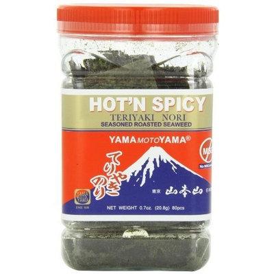 Yamamotoyama Teriyaki Nori Seaweed Hot and Spicy, 0.7-Ounce Bottles (Pack of 6)