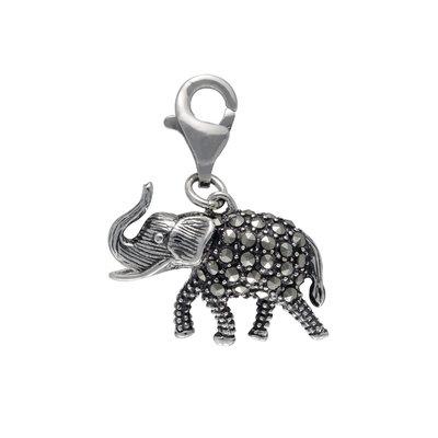 Mac's Marcasite Elephant Charms