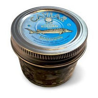 Red Pearl Sturgeon (Black) Caviar 100 g (3.5 Oz.) Jar