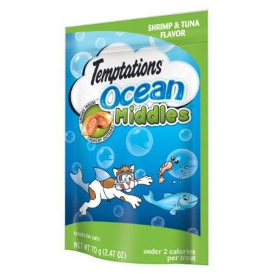 Whiskas WHISKASA TEMPTATIONSA Ocean Middle Cat Treat