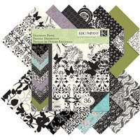K&Company Fusion Double Sided Paper Pad - Multicolor (36 Sheets Per
