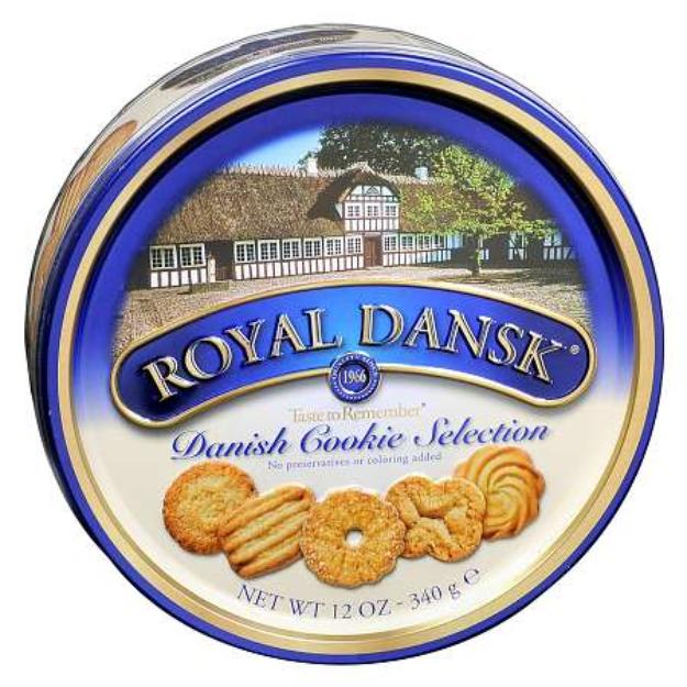 Royal Dansk Taste To Remember Danish Cookie Selection
