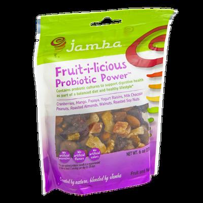 Jamba Fruit-i-licious Probiotic Power Fruit and Nut Mix