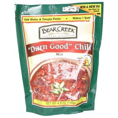 Bear Creek Mix Chili Darn Good, 9.8 Ounce (Pack of 6)