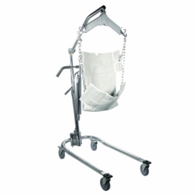 Drive Medical Hydraulic Patient Lift with 6 Point Craddle, 1 ea