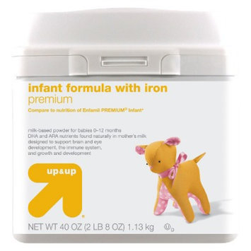up & up Infant Formula Premium - 40oz (6 Pack)