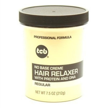Tcb No Base Hair Relaxer Regular 7.5oz. Jar (3 Pack)