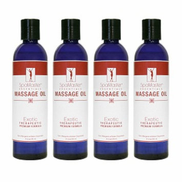 Master Massage Oil 4-pack