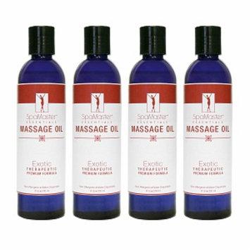 Master Massage Oil 4-pack
