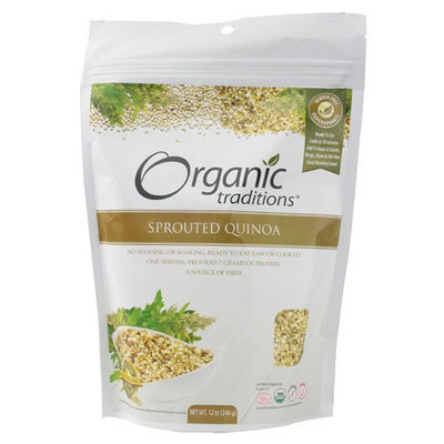 Organic Traditions Sprouted Quinoa 12 oz