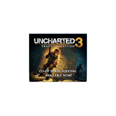 UNCHARTED 3: Drake's Deception Co-op Shade Survival Mode DLC (Playstation 3)