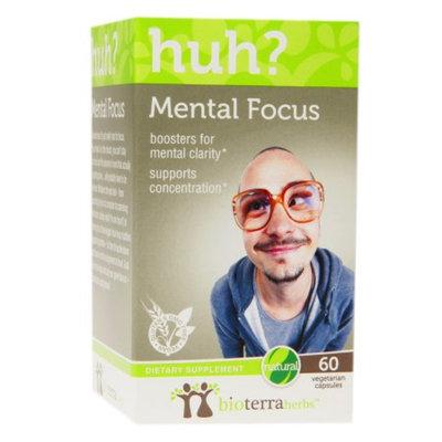 BioTerra Herbs Mental Focus, Veggie Capsules, 60 ea