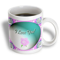 Recaro North 3dRose - Edmond Hogge Jr Roses - I Love You - 11 oz mug