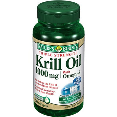 Nature's Bounty Krill Max Pure Antarctic Neptune Krill Oil Softgels