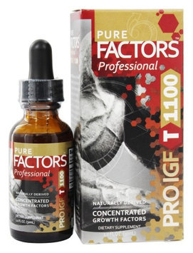 Pure Solutions - Pure Factors Professional Pro IGF T 1100 From Deer Velvet Antler Extract - 1 oz.