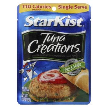 Starkist StarKist Tuna Creations Herb & Garlic Tuna 2.6 oz