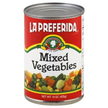 La Preferida Vegetables Mixed, 15-Ounce (Pack of 12)