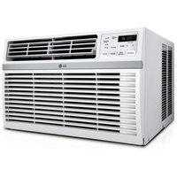 Lg Window Air Conditioners: LG Electronics 8,000 BTU Window Air Conditioner with Remote LW8014ER