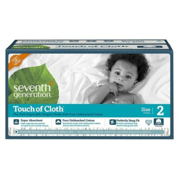 Seventh Generation Touch of Cloth™ Size 2 Baby Diapers