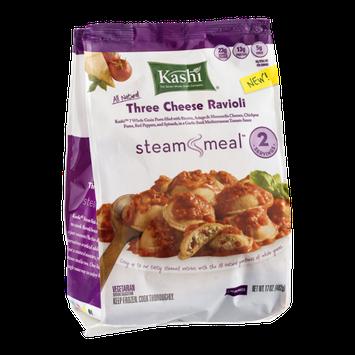 Kashi® Steam Meal Three Cheese Ravioli