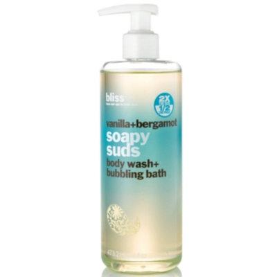 Bliss vanilla + bergamot soapy suds, 16 oz