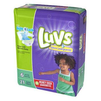 Luvs with Ultra Leakguards Size 6 Diapers