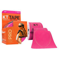 KT Tape Pro Kinesiology Therapeutic Tape - Pink
