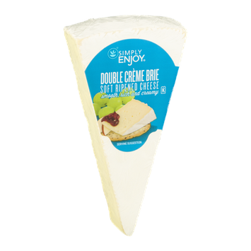 Simply Enjoy Double Creme Brie Soft Ripened Cheese