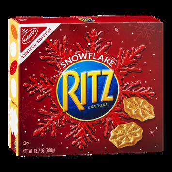 Nabisco Ritz Crackers Snowflake