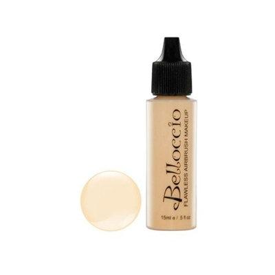 Belloccio's Professional Cosmetic Airbrush Makeup Foundation 1/2oz Bottle: Vanilla