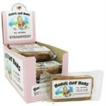 BoBo's Oat Bars All Natural Bar Strawberry -- 3 oz