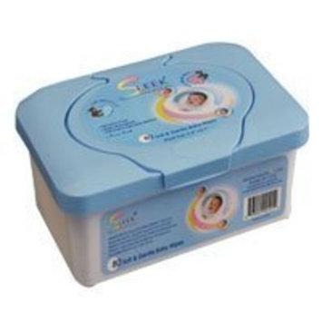 Sleek Sensation Sleek Baby Wipes In Tub - 80/Tub